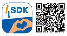 QR-Code für die SDK-App Android