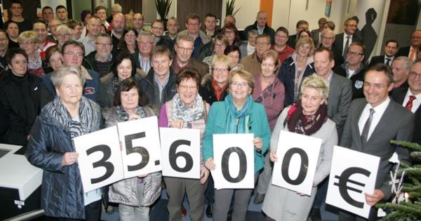 Die Spendenempfänger aus dem Geschäftsbereich Altenstadt und Bellenberg